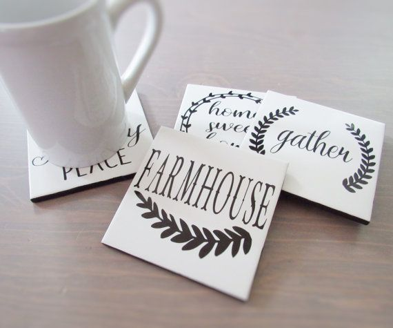 Farmhouse coasters