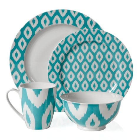 Kenza Dinnerware - Aquamarine from Z Gallerie: Dreams Houses, Plates, Color, Pretty Dishes, Houses Stuff, Gallerie, Beaches Houses, Kenza Dinnerware, Shades Of Aquamarines