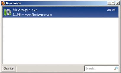 Step 3 Firefox