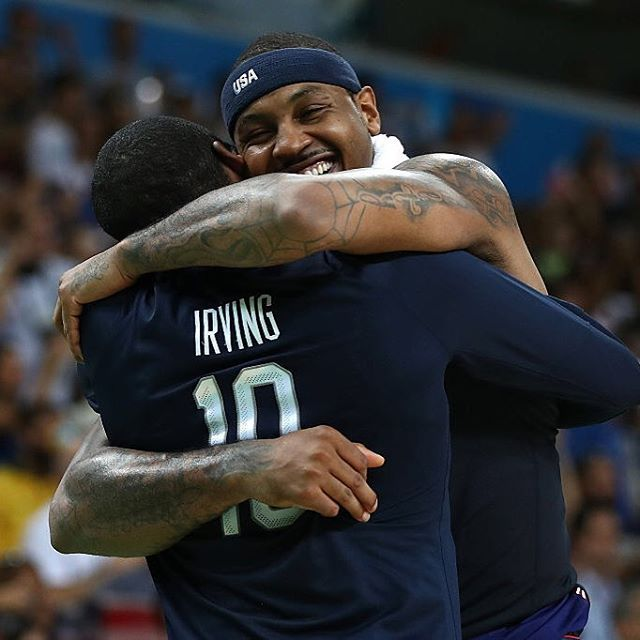 A brotherhood. 🇺🇸🏀🏅