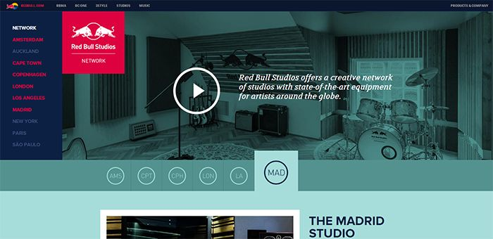 40+ Beautiful Flat Web Designs for Your Inspiration