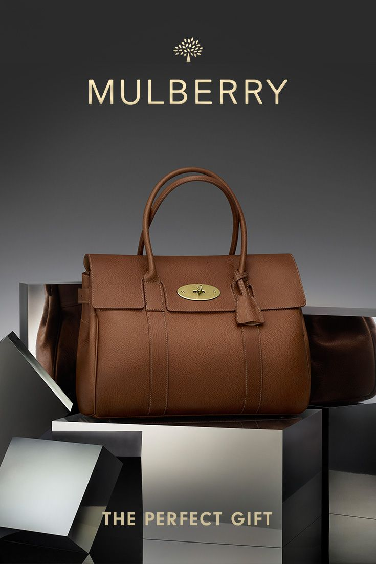 Mulberry Classics – give the ultimate gift. Discover the collection on mulberry.com