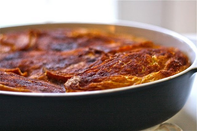 Baked pumpkin french toast makes me look forward to winter. :)