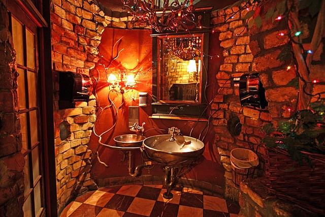 varsity theater bathroom.  Loring Pasta Bar Minnesota Twin cities and City