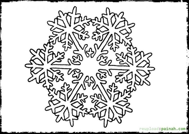 detailed snowflake coloring pages - 125 best images about abstract coloring pages on pinterest