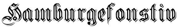 Nice free German font