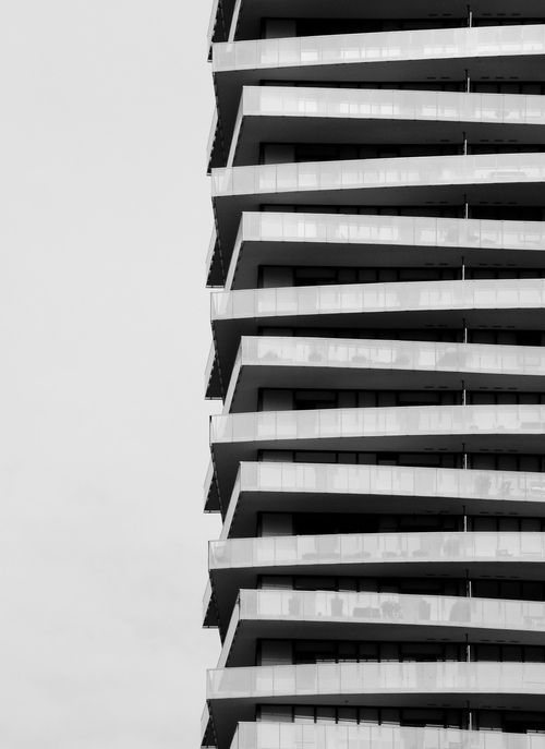 Rhythm - this building has rhythm because it has a strong repeated pattern the whole way up