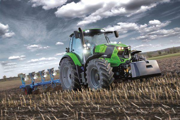 Deutz Fahr 6185 Powershift Agrotron