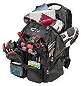 Joe Rocket 1409-0000 Blaster Max Black 13.75″ x 20″ x 9″ Motorcycle Backpack