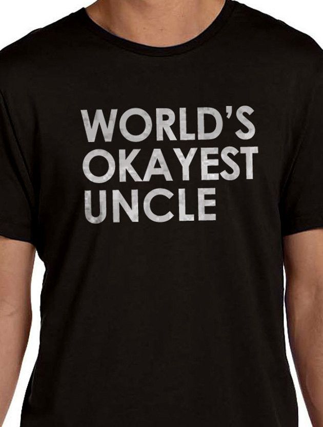Uncle Gift World's UNCLE Mens t shirt tshirt Uncle Birthday Husband Gift Best Uncle Anniversary Gift Cool Gift All our t-shirts are screen printed by hand and made to order on 100% Cotton Tees. All sh
