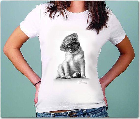 Dog Shirt White T-Shirt Women Tshirts T Shirts All Size