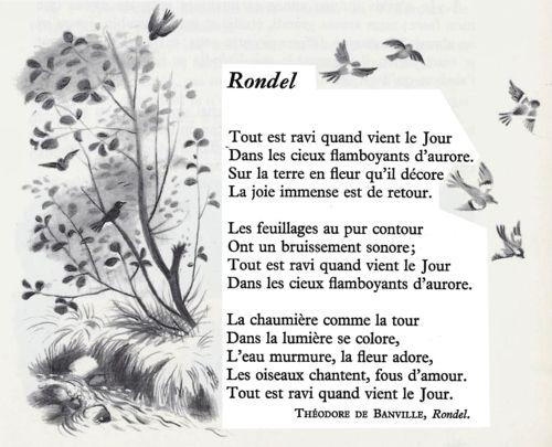 Théodore de Banville - Rondel