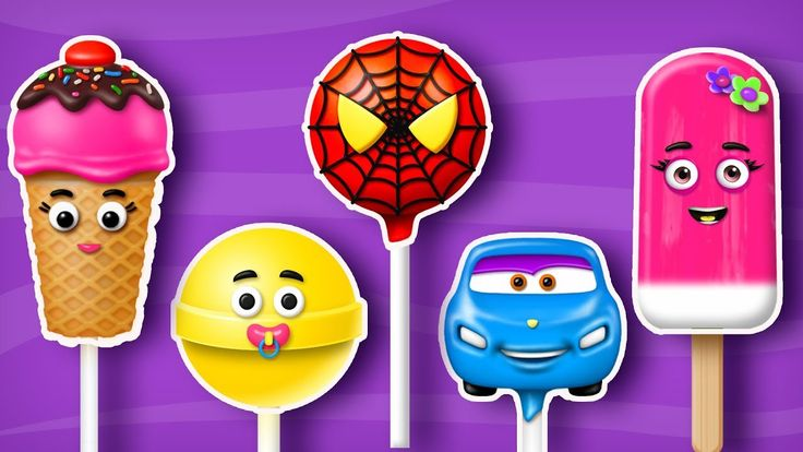 Lollipop Finger Family Song| Car, Ice Cream and more | Cake Pop Finger Family Songs for kids