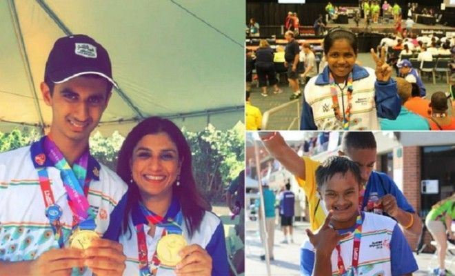 A proud moment! Indian athletes return with 173 medals from the Special Olympics 2015