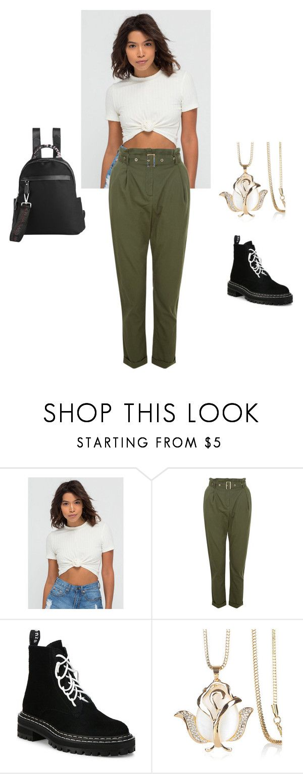 """""""Untitled #1219"""" by who-are-we ❤ liked on Polyvore featuring Proenza Schouler and WithChic"""