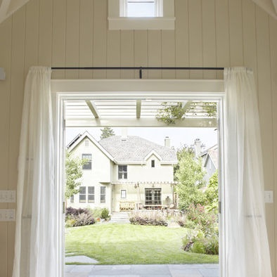 tongue and groove white paneling -