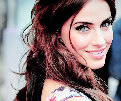 "Jessica Lowndes perfect green eyed beauty ""If You Stay"""