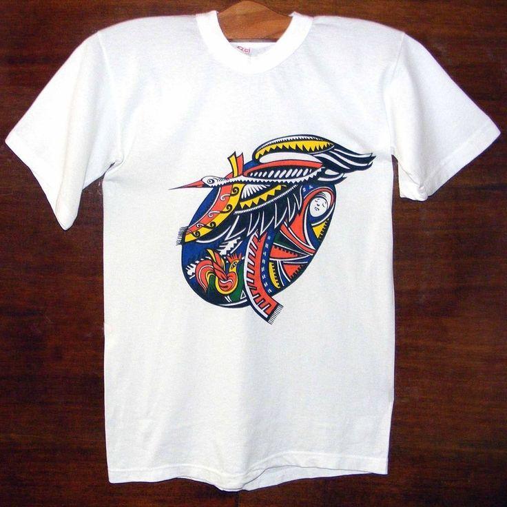 Handpainted t-shirt - Ukrainian Pysanka. Rare, original images of Easter Eggs.