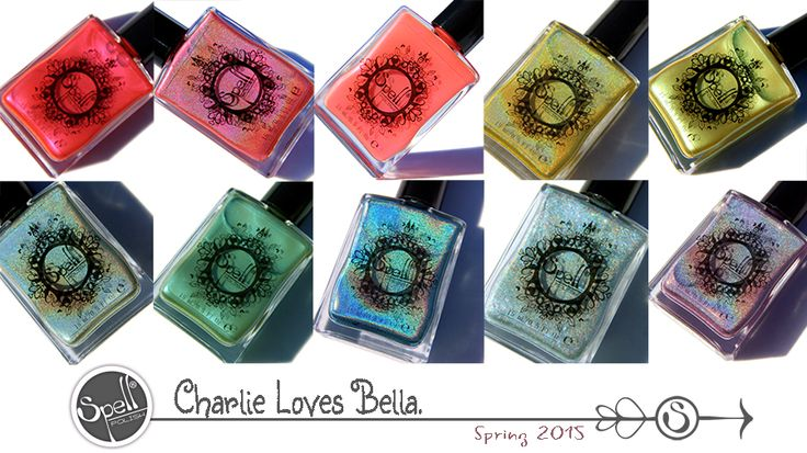 Charlie Loves Bella collection of 10 colors
