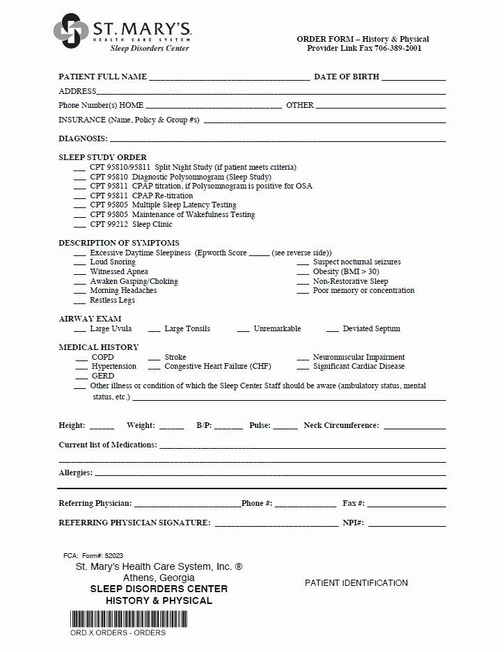 Patient Discharge Form Template Luxury Referral Forms St Mary S