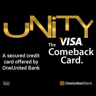 Unity Secured Credit Card for rebuilding credit