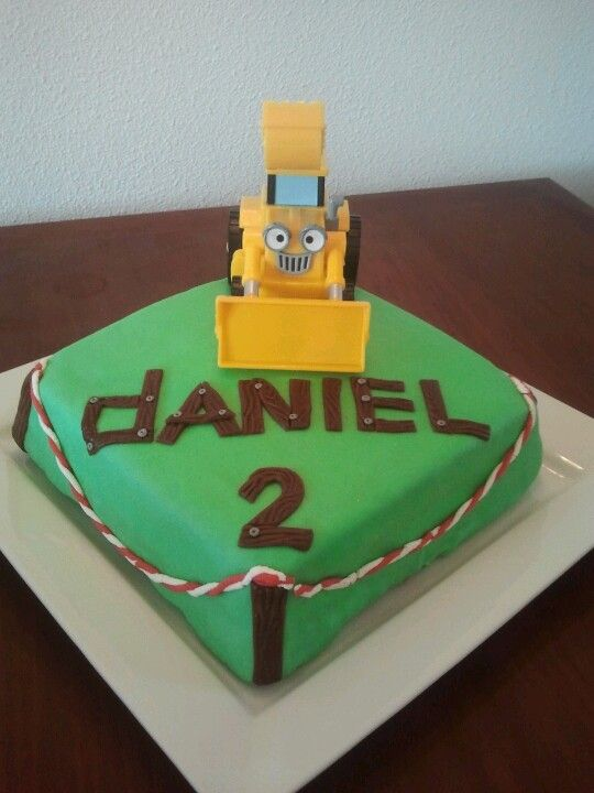 Bob The Builder Cakes Instructions