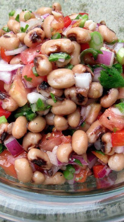 Cooking Pinterest: Black Eyed Pea Salad Recipe