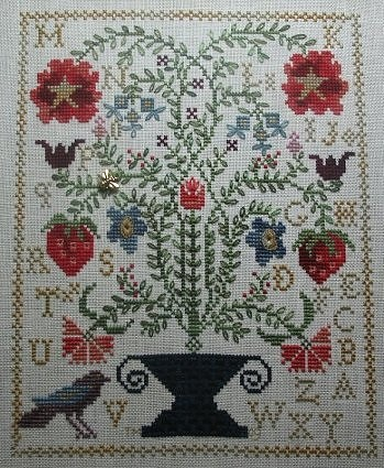 11007 best punto de cruz images on pinterest embroidery for Strawberry garden designs