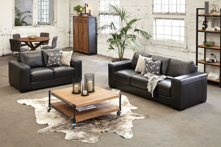Looking for a lounge suite that is built to last? Look no further than the incredibly stylishZeus 2 Piece Leather Lounge Suite. This trendysuite offers awide stylearmwith well cushioned seating so you can get full enjoyment out ofyourloungingexperience.
