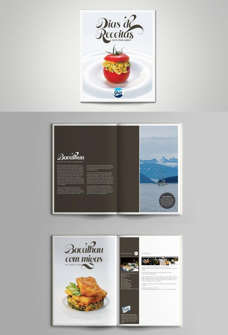 Dias Cookbook Editorial Design