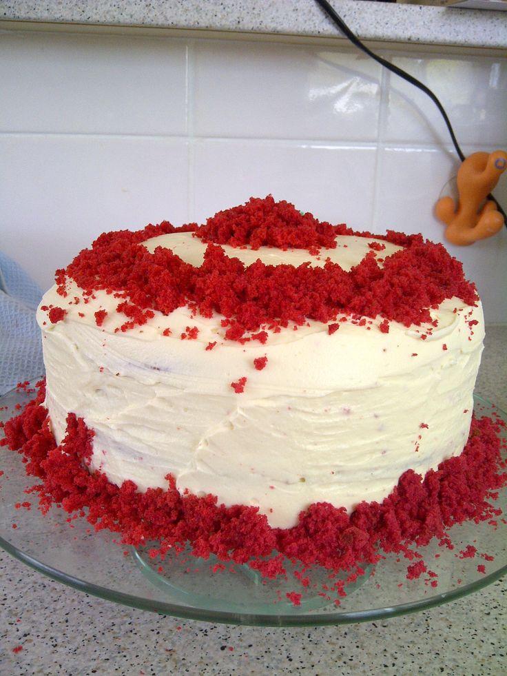 Home Made Red Velvet Cake   Recipe From Joy Of Baking