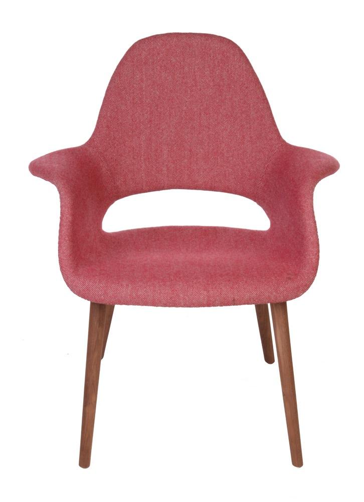 Replica Eames Saarinen Organic Chair Pink Matt Blatt