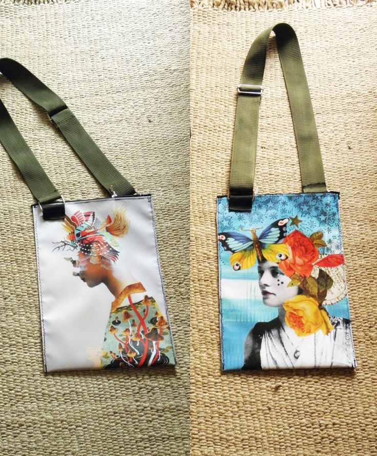PLASTIC BAG PRINTED WITH FEMININ IMAGES THAT I LIKE, TWO SIDES, WATERPROOF