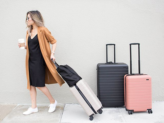 Away Luggage Review Carry On Bigger Carry On And Large Luggage Reviews Carry On Best Travel Bags