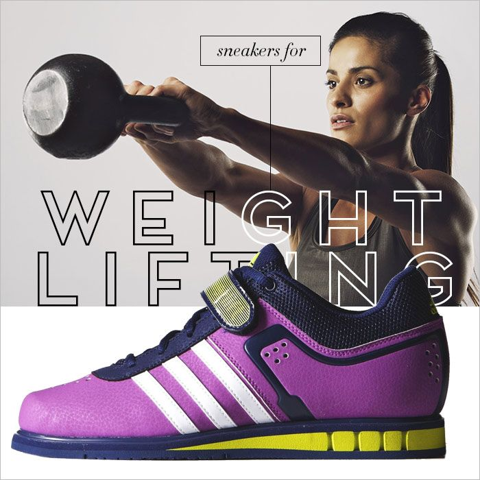 Sneakers for weight lifting