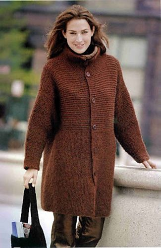 Four members of our staff and a couple of customers at the Stitchin' Den are knitting this. Ravelry: Project Gallery for Einstein Coat pattern by Sally Melville