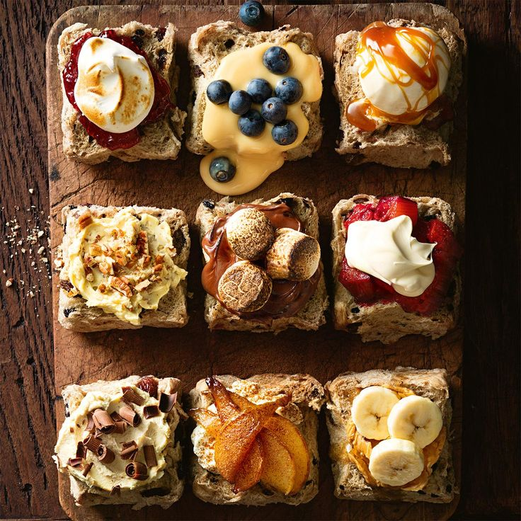 Mouth watering topping ideas for your #HotCrossBun this Easter!