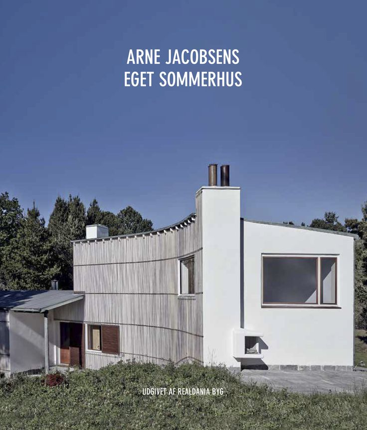 Arne Jacobsen sommerhus, Sejrøbugten, Odsherred, Gudmindrup, Arne Jacobsens eget sommerhus