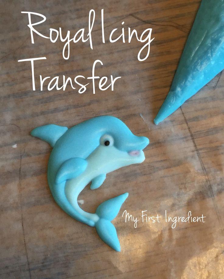 Royal icing transfer (royal icing cookies designs)