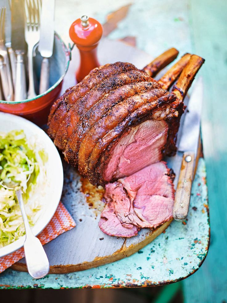 This Texas-spiced prime rib of beef recipe is indirectly grilled to bring out the flavour of the meat. Using the rub adds a real depth and complexity to the beef.