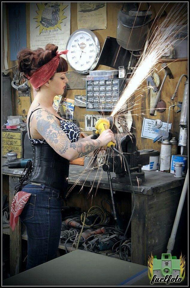 handy woman...