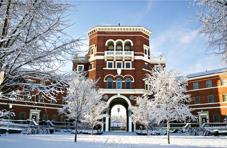 Snow at Oregon State!