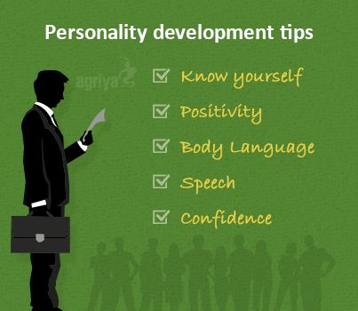 5 great tips for personality development