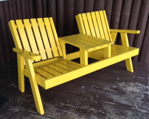 Our Whimsical Furniture Includes A Whimsical Chair Caled A Garden Bench.  This Outdoor Patio Bench Is Unlike Outdoor Garden Chairs Or A Adirondack  Patio ...