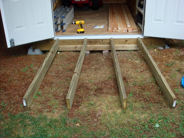Best 25 Storage Shed Ramp Ideas Ideas On Pinterest Shed