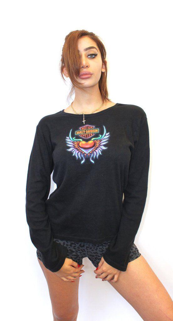 Harley Davidson Womens Long Sleeve Large