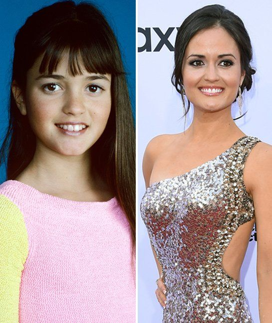 """Winnie Cooper"" in Wonder Years is all grown up (Danica McKellar)"
