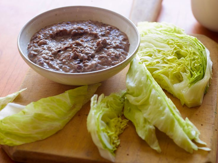 Black Bean Hummus Recipe : Melissa d'Arabian : Food Network - FoodNetwork.com Amazing with celery, I will pass on the iceberg!