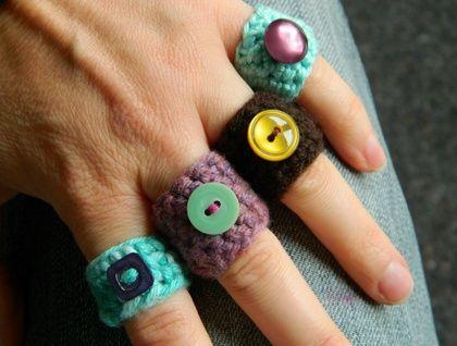 Anillos de ganchillo   -   Crochet Rings