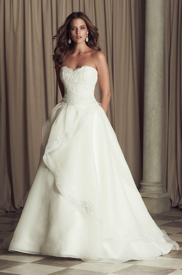 Divine Paloma Blanca Wedding Dresses 2014 Collection.    kleid ist schön. oberste volant weg, dann ist es superschön^^